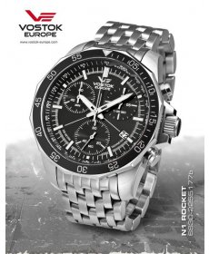Vostok Europe N 1 Rocket Chrono 6S30/2255177 B