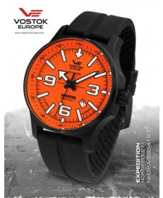 Vostok Europe Expedition North Pole 1 Automatic Line NH35A/5954197 silikón black