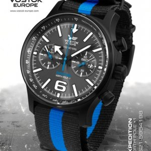 Vostok Europe Expedition North Pole 1 Chrono Line 6S21/5954198 textil