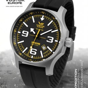 Vostok Europe Expedition North Pole 1 Automatic Line NH35A/5955196 silikón