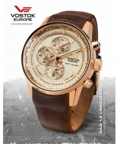 Vostok Europe GAZ-14 world timer/alarm line  YM26/565B294