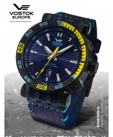 Vostok Europe Energia Rocket Stainless steel line NH35/575C280