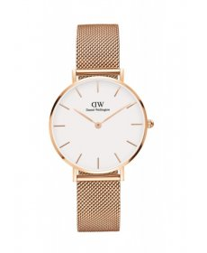 Daniel Wellington Classic Petite Melrose rose gold/white DW00100163