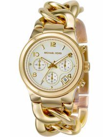 Michael Kors Runway Twist Gold-Tone MK3131