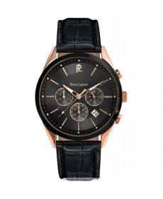 Pierre Lannier Black Leather 290C033