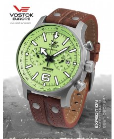 Vostok Europe Expedition North Pole 1 Titanium 6S21/5957241 S