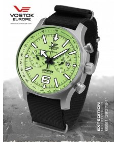 Vostok Europe Expedition North Pole 1 Titanium 6S21/5957241 T