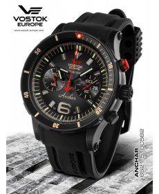Vostok-Europe ANCHAR Submarine Chrono Line 6S21/510C582
