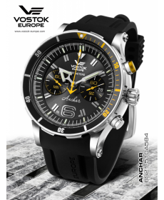 Vostok-Europe ANCHAR Submarine Chrono Line 6S21/510A584